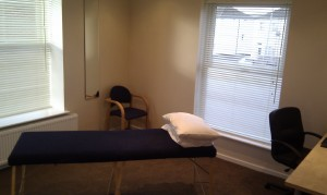 View of treatment room 3